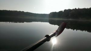 paddla på sjön